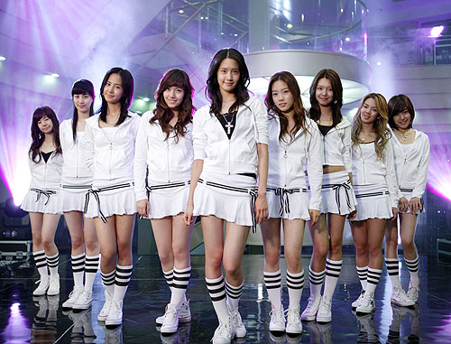 Girls' Generation is one of South Korea's top female pop groups.