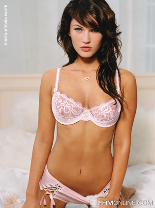 megan fox lingerie